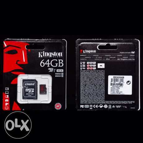 Kingston memory card for gopro - action camera- dslr- android