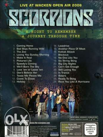 Scorpions: Live at Wacken Open Air 2006 6 أكتوبر -  2