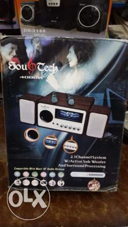 سماعات صب Subwoofer Souand Tech_4000W