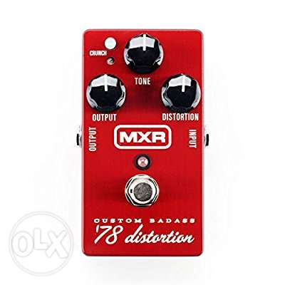 MXR Custom Badass 78 Distortion Guitar pedal
