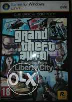 GTA Liberty City Pc DVD