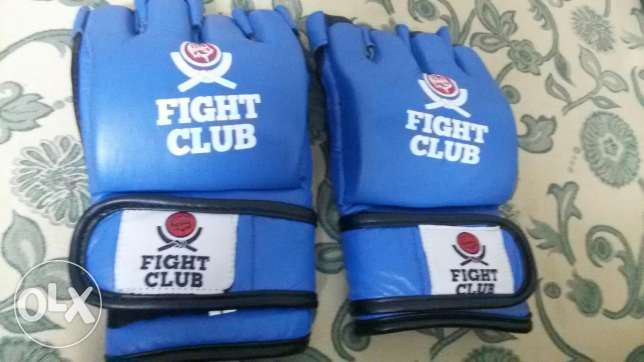 MMA Fight Club gloves شيراتون -  1