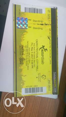 Ticket amr diab