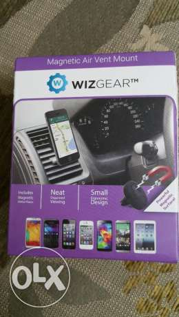 WizGear Universal Air Vent Magnetic Car Mount