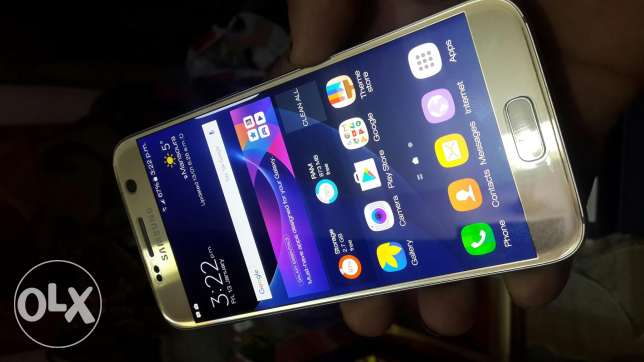 S7 g930f gold 32gb one sim المنصورة -  7