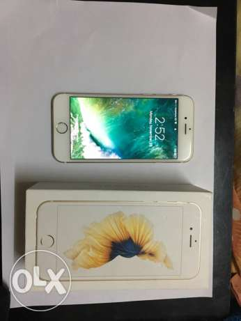 iphone 6s gold 64 gig - very good condition مدينة نصر -  1