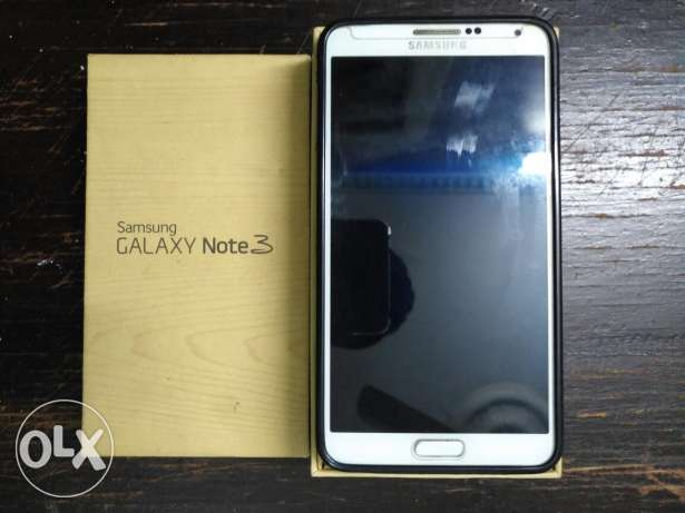 Samsung Galaxy note3 white 32G