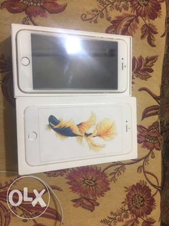 6s plus 64 giga gold