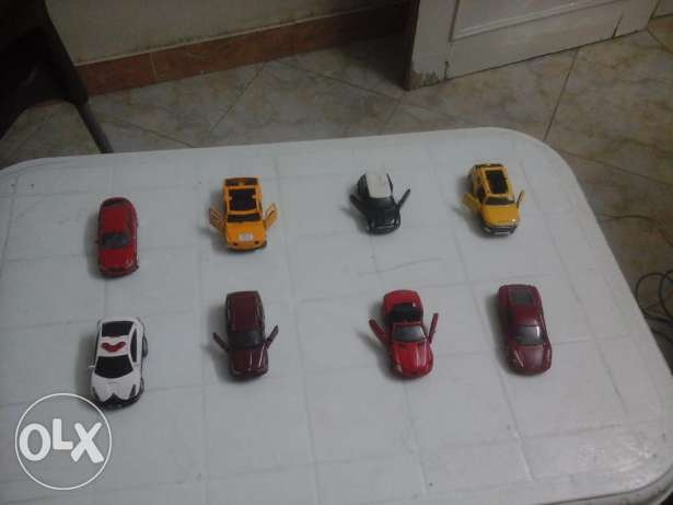 cars scale size 1/36