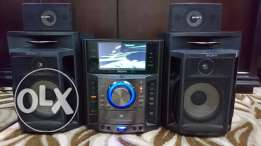 Sony Hi Fi mhc gzr888d with 7 inch LCD