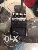 FX86B DOD Death metal distortion guitar pedal