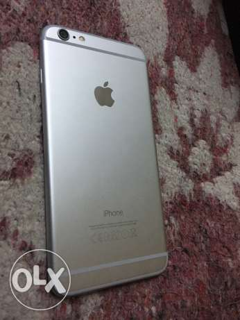 iphone 6 plus 64 silver حلوان -  1