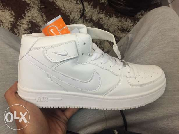 Nike air force high copy shoes never used size 43