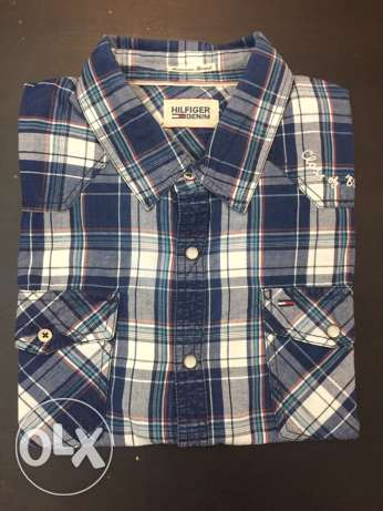 Tommy original shirt casual size large new