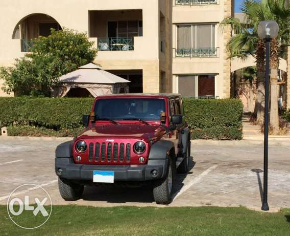 Jeep Wrangler 2014 - 20,000 KM - Brand New - Cherry Red Color - رانجلر