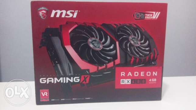 MSI RX 480 Gaming X 4GB