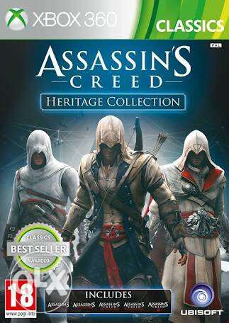 Original assassin's creed heritage collection Xbox 360