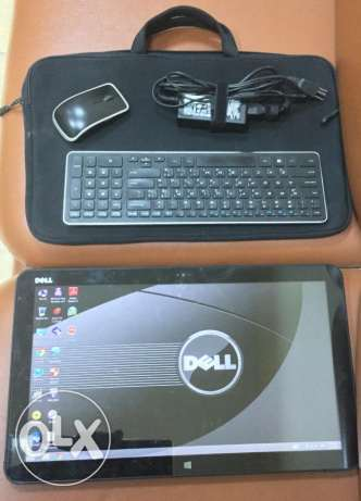 Dell xps 18 core i7 8 giga ram hdd 500 ssd 32 tablet مصر الجديدة -  1