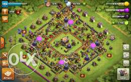 Clash of Clans TH11 Almost Max + name change available + Gems