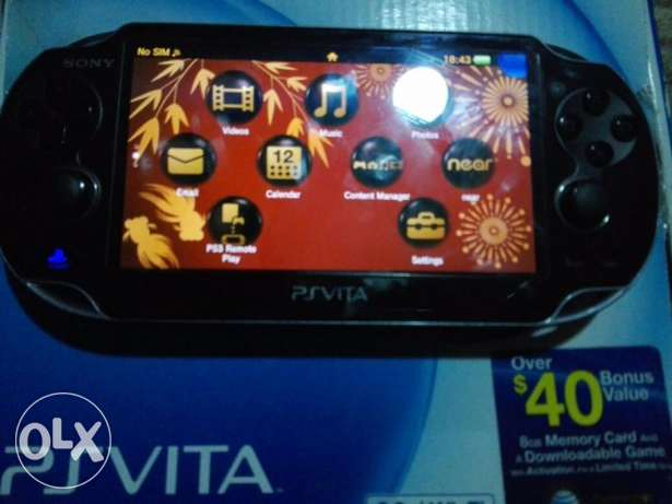 PS Vita + 8GB Memory + FIFA 15 - The Swapper الإسكندرية -  2