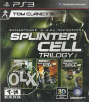 splinter cell trilogy PS 3