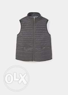 Violeta by mango grey women's vest