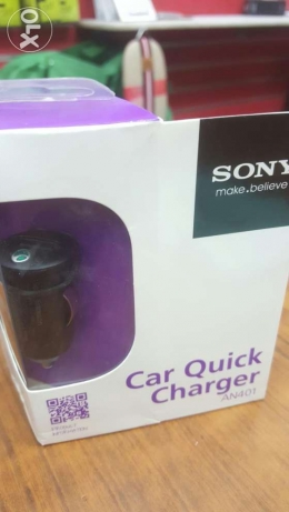 Sony fast charger car plug