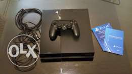 Used PlayStation 4 for sale with 3 Games CDs
