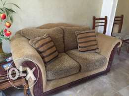 Beige Sofas in Perfect Condition