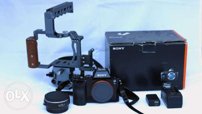 Sony a7s mark 1+cage+more