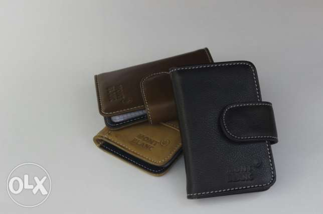 Card holder - 24 cards - Genuine Leather