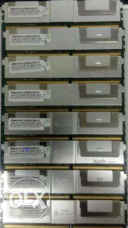 4GB RAM Dell precision WORKSTATION 690 for T5400 T7400