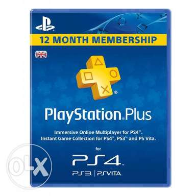 Playstaion plus psn 365 uk