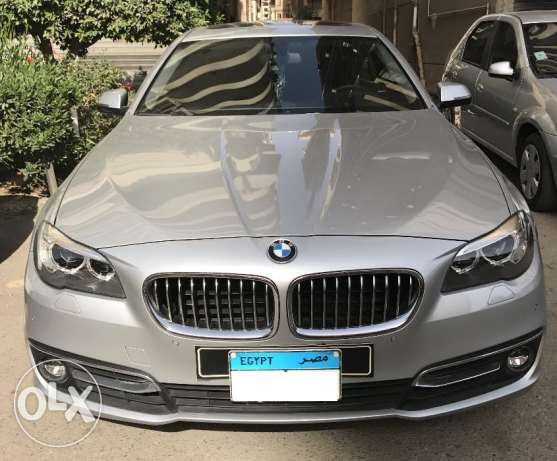 BMW 520 Luxury 2016 Just 7000 km