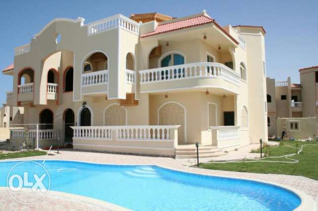 Fully Furnished Villa with Pool in Phase 1 of Moubarak 7 area الغردقة -  8