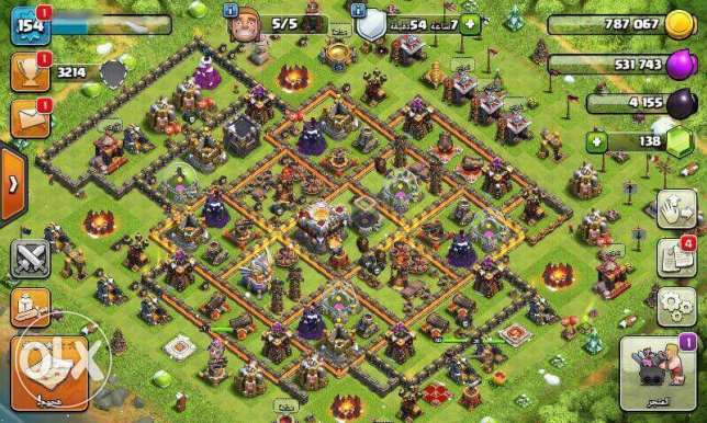 Clash Of Clans Town Hall 11 Max