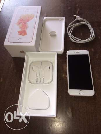 iphone 6s rose gold 64 giga الإسكندرية -  8