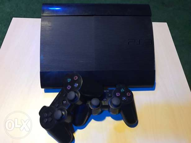 playstation3 good condition with a two joysticks
