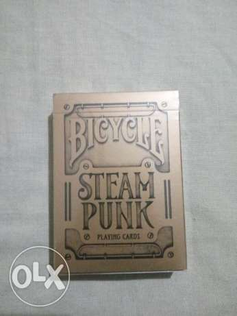 Bicycle playing cards Original From U.S.A Steam Punk GOLDEN SEALED BOX