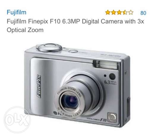 Fuji film FinePix digital camera
