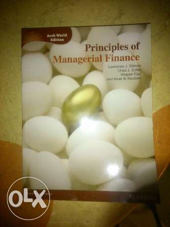 Principles of Managerial Finance book