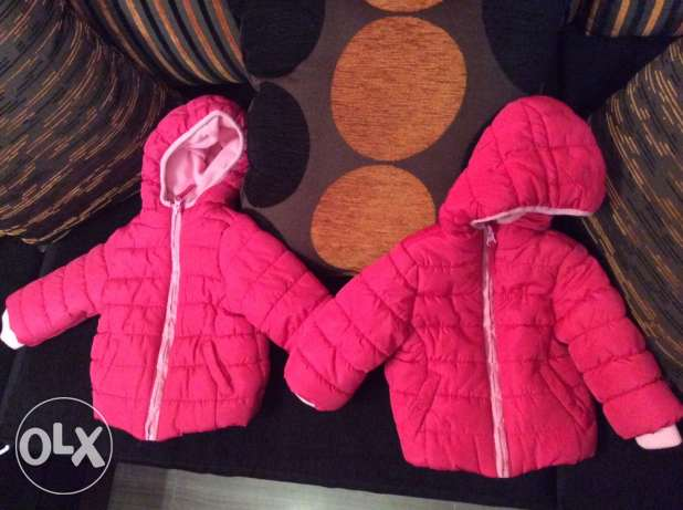 2 mother care jackets one for 200 , two for 350