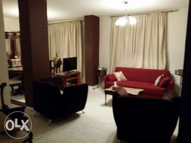 REHAB GUC garden 100m GF fully furnished Flat for rent مدينة الرحاب -  1