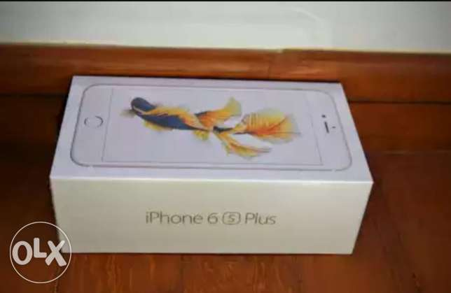 Iphone 6s plus 64 gold new(sealed)جديد متبرشم .اي فون ٦ اس بلس ٦٤ بنها -  2