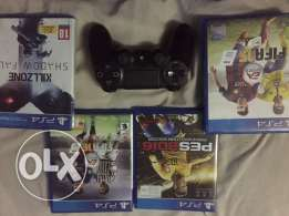 playstation 4 games without joystick