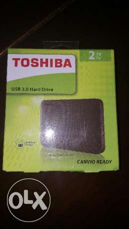 Toshiba,USB 3.0 hard drive 2 TB canvio ready