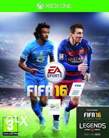 Fifa 16 ...used 2 times