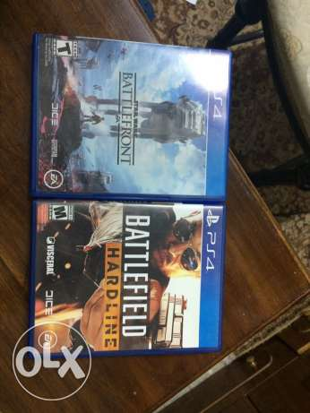 use ps4 games starwars and bf hardline