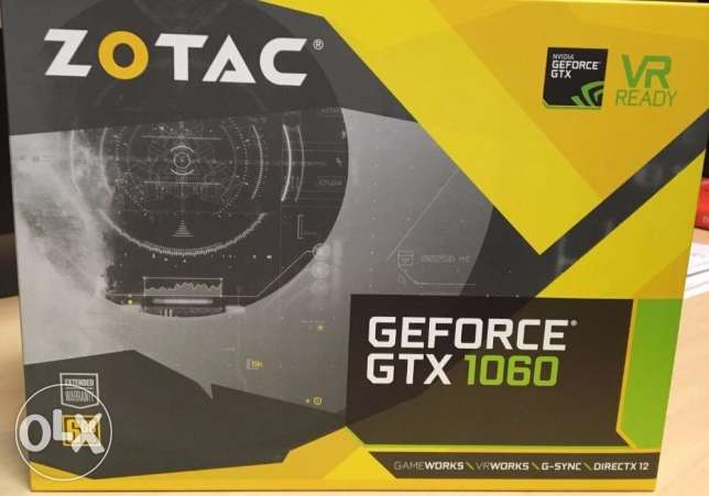 ( ZOTAC Gtx1060 6GB (sealed