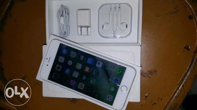 Iphone 6 plus 16G silver with box